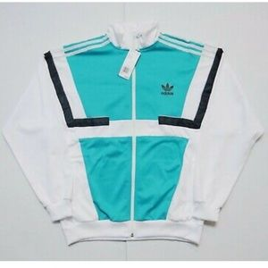 New Rare Adidas Vintage Inspired Track Top Jacket